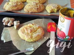 Gluten Free Pumpkin Ginger Scones