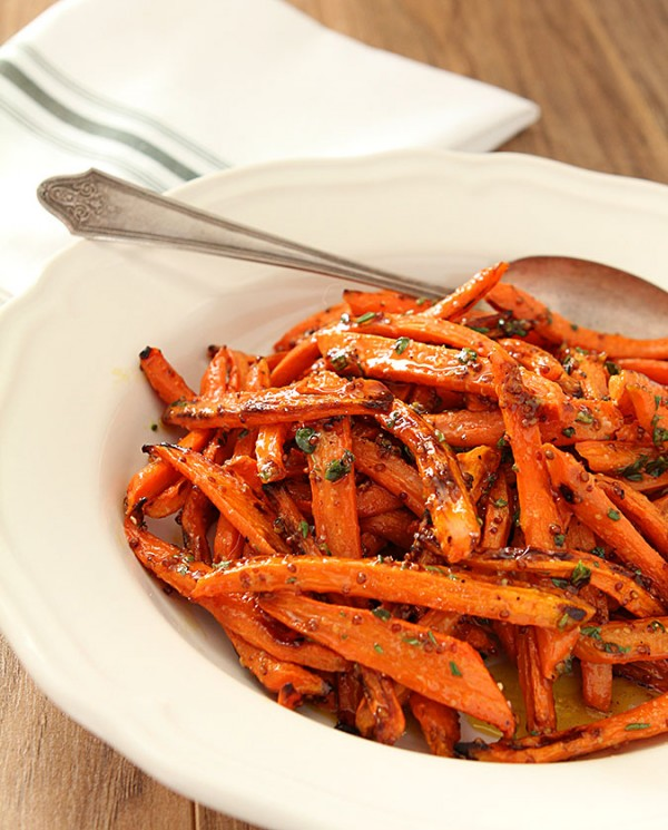Roasted Carrots with Honey and Fresh Herbs