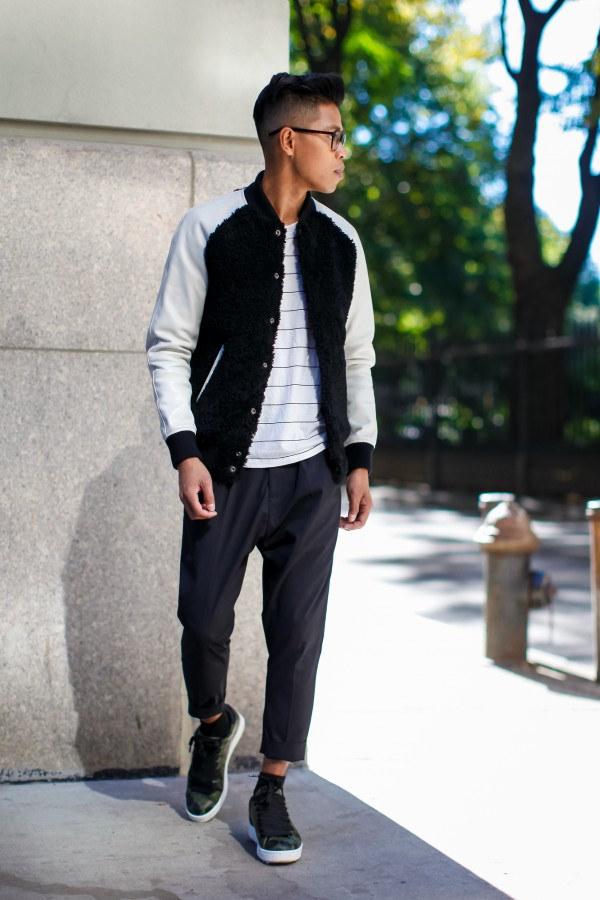how to style a baseball jackets