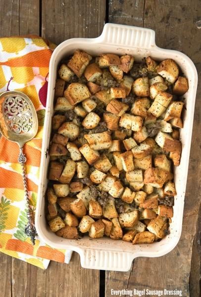 Everything Bagel Sausage Dressing - BoulderLocavore.com