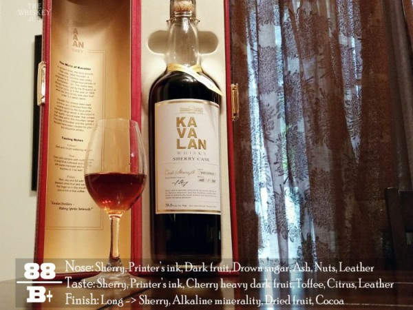 Kavalan Sherry Single Cask Review