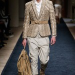 This outfit shows that a man can be dressy and dynamic at the same time. Balmain's collection was one of the best of the season.