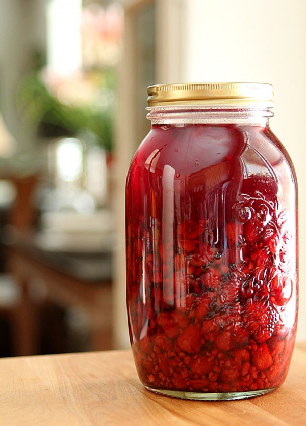 Homemade Raspberry Liqueur : Liqueurs : Creative Culinary : DrinkWire