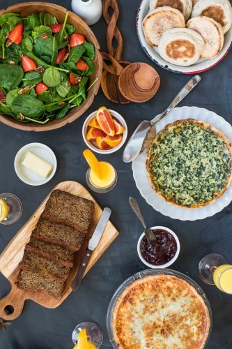 The Ultimate Made Ahead Easter Brunch Menu for a stress free holiday!