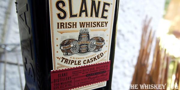 Slane Irish Whiskey Label