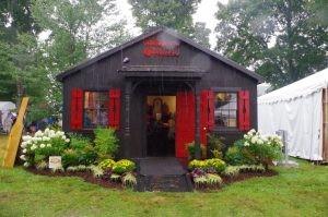 Maker's Mark house in the Bourbon village
