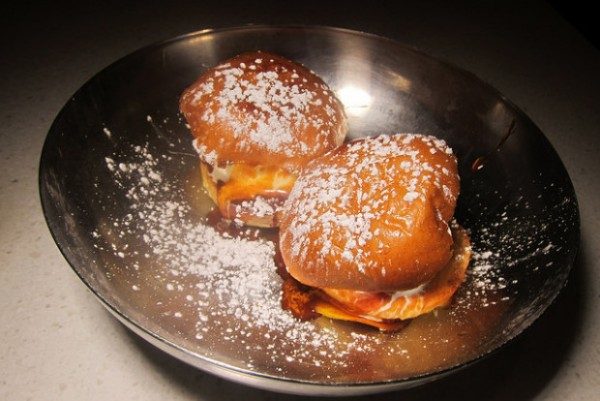 Pot ice cream sliders