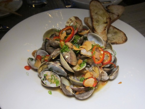 yuzu clams