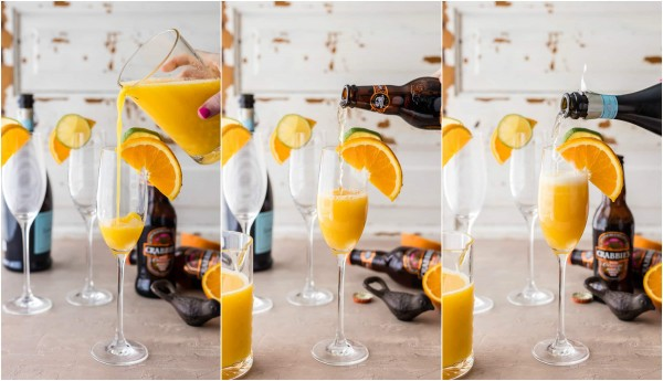 Moscow mule mimosas by becky hardin epicurious community for How many mimosas per bottle of champagne
