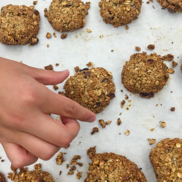 Hard to resist Breakfast grab n go cookies on eatlivetravelwrite.com