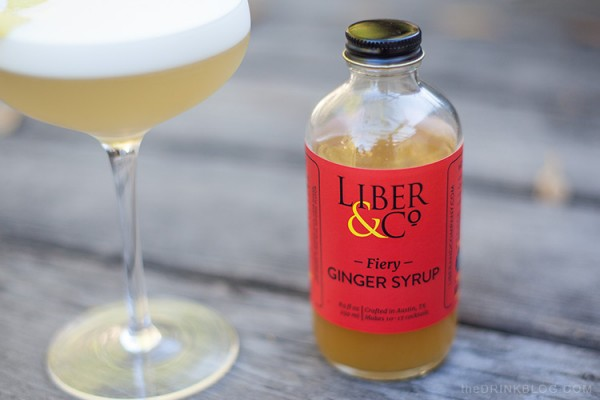 liber and co fiery ginger syrup