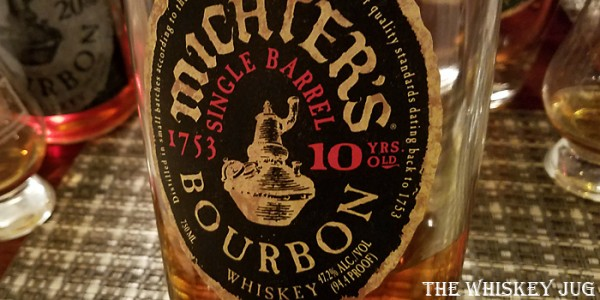Michter's Bourbon 10 Years Label