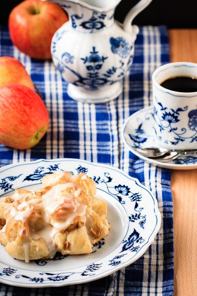 Baked Apple Fritters Picture
