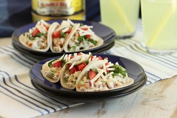 Tuna Salad Tacos