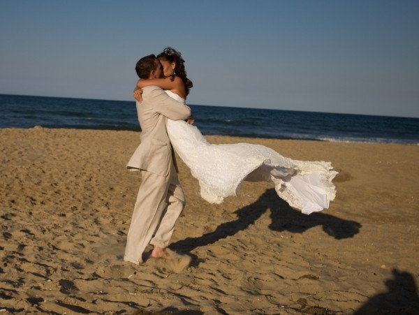 Married my high school sweetheart on Friday the 13th (6/13/2008)