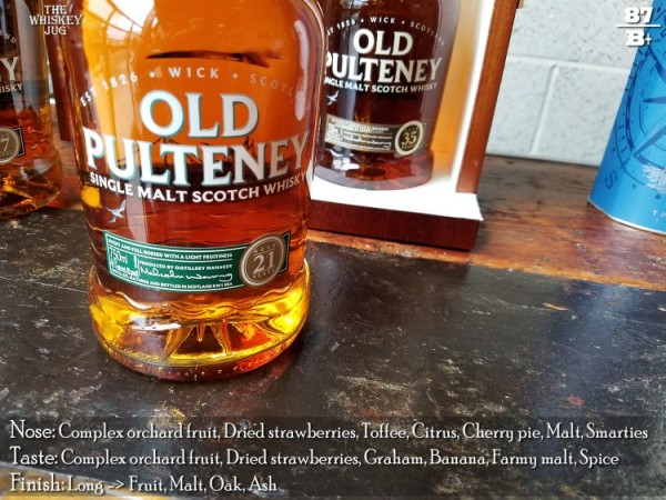 Old Pulteney 21 Years Review