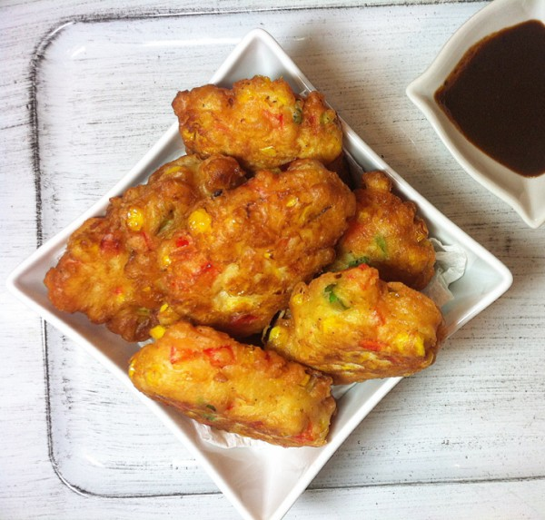 Spicy Corn Fritters by Mario Laliberte | Epicurious Community Table