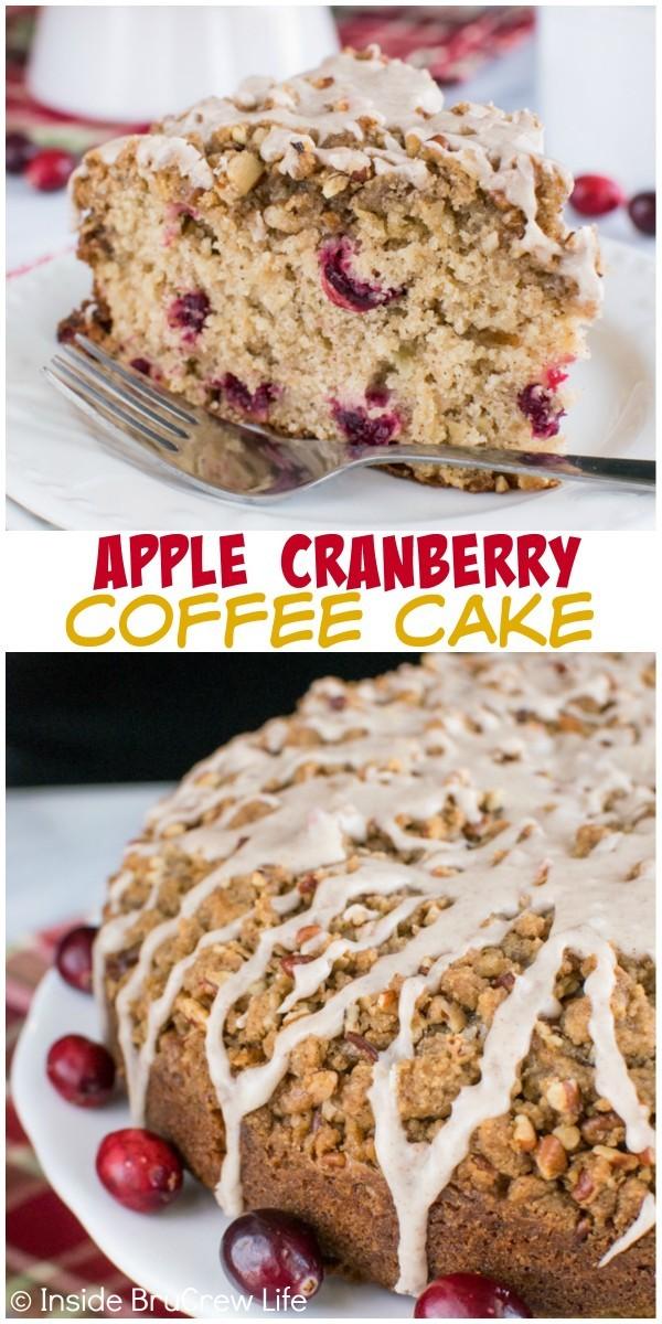 Epicurious Cranberry Coffee Cake