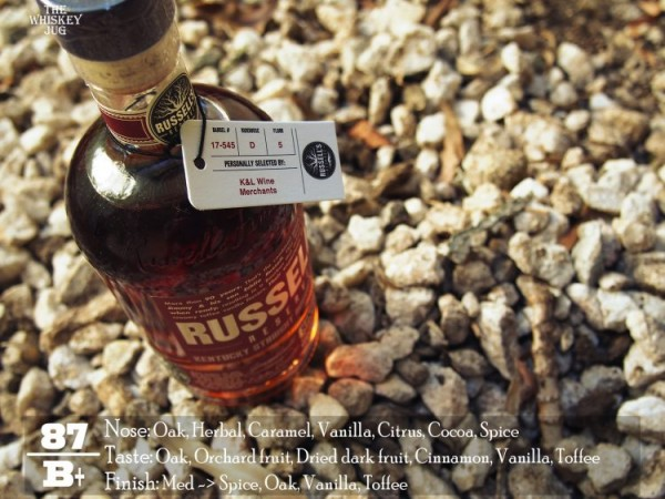 Russell's Reserve Single Barrel 545 Review