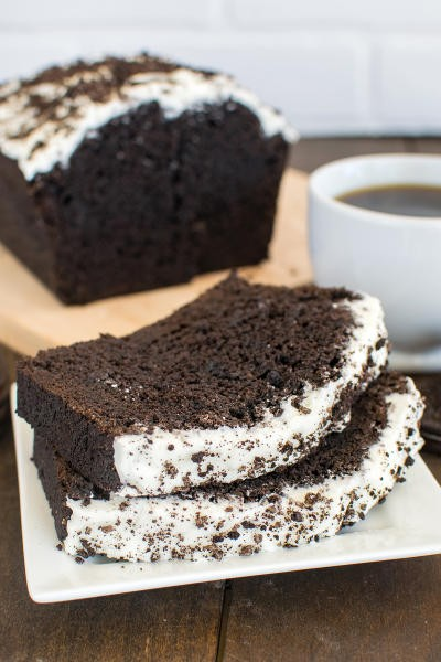 Chocolate Cookies and Cream Banana Bread Image