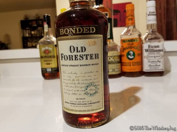 What Is Bottled In Bond 1