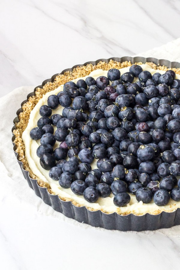 Blueberry White Chocolate Tart by Megan | Stetted ...