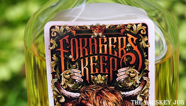 Label fir the Forager's Keep