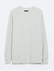 Zara Side Zip Sweatshirt