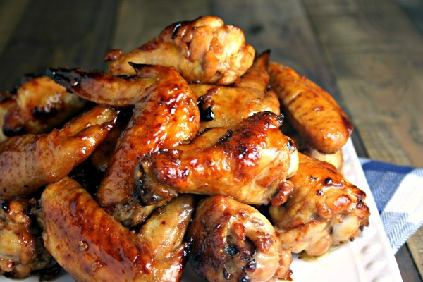 Sticky Baked Chicken Wings | Life, Love, and Good Food