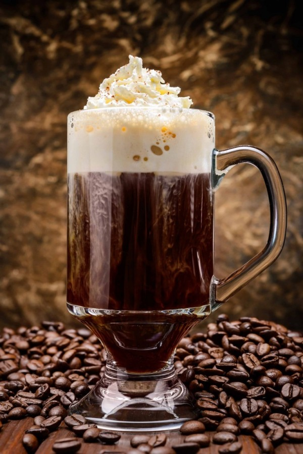Image result for irish coffee cocktail