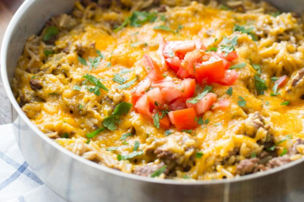 Easy Cheeseburger Skillet Photo