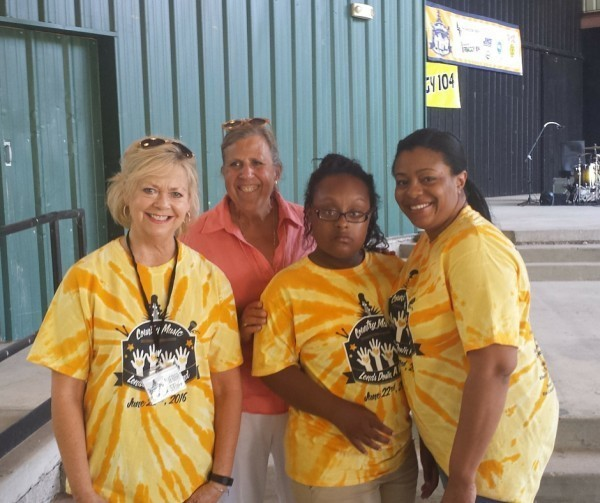 Tayler's Camp Teachers- Melissa Whitaker & Margaret Dougan, Tayler Johnson, & Keli Gooch