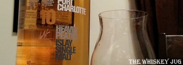 Bruichladdich Port Charlotte 10 years Label