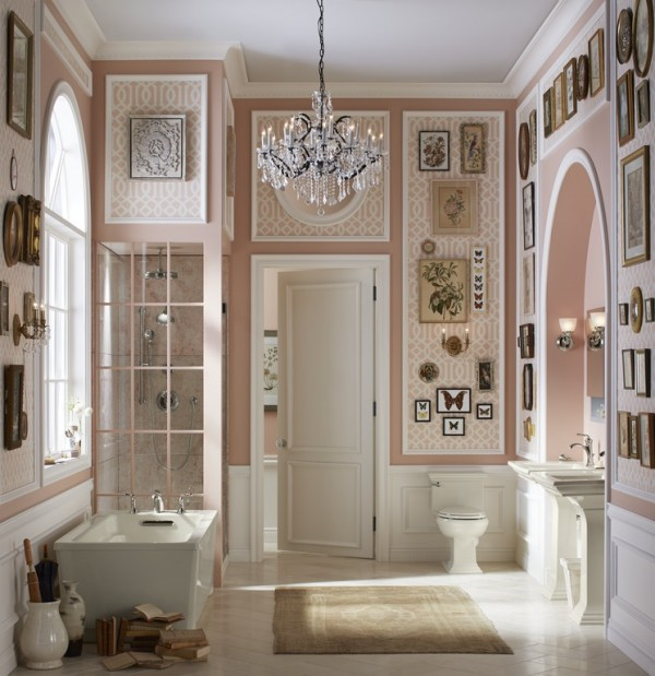 A Traditional Take On The Pale Neutral Bathroom