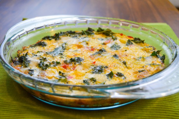 Crustless Kale Quiche   TODAY.com