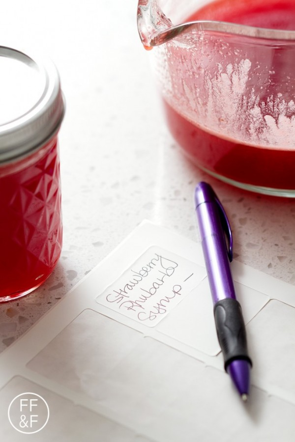 Bottoms Up | Strawberry Rhubarb Simple Syrup by Beth | Epicurious ...
