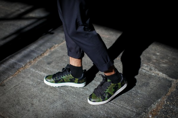 coach camo sneakers