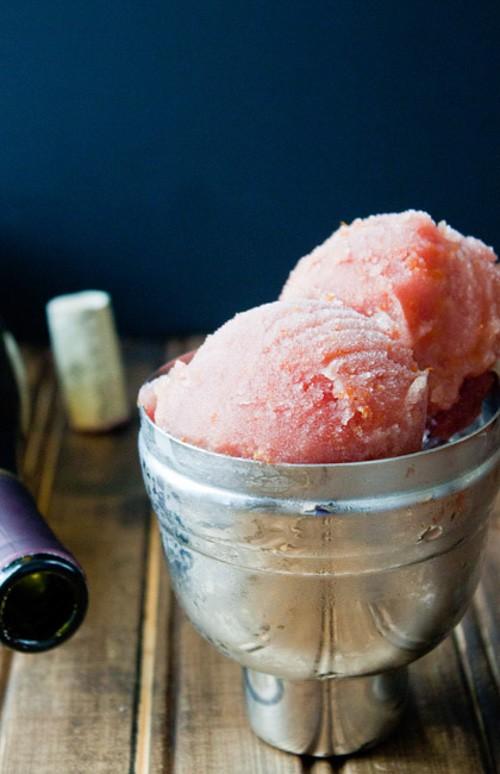 Sangria Sorbet | Dessert for Two