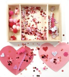 Kid's Valentines Party with Snacks, Crafts, and Learning Printables