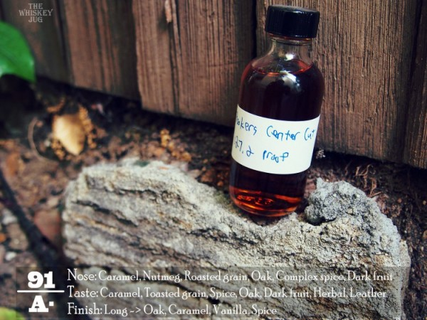 Booker's Bourbon Center Cut Review