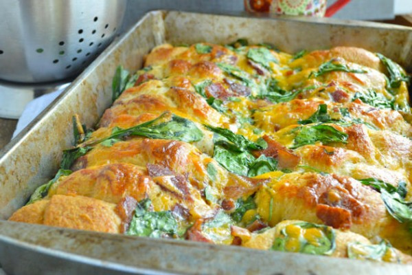 Crescent Roll Breakfast Bake Picture