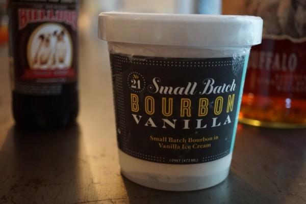 Steve's delicious Bourbon Vanilla Ice Cream