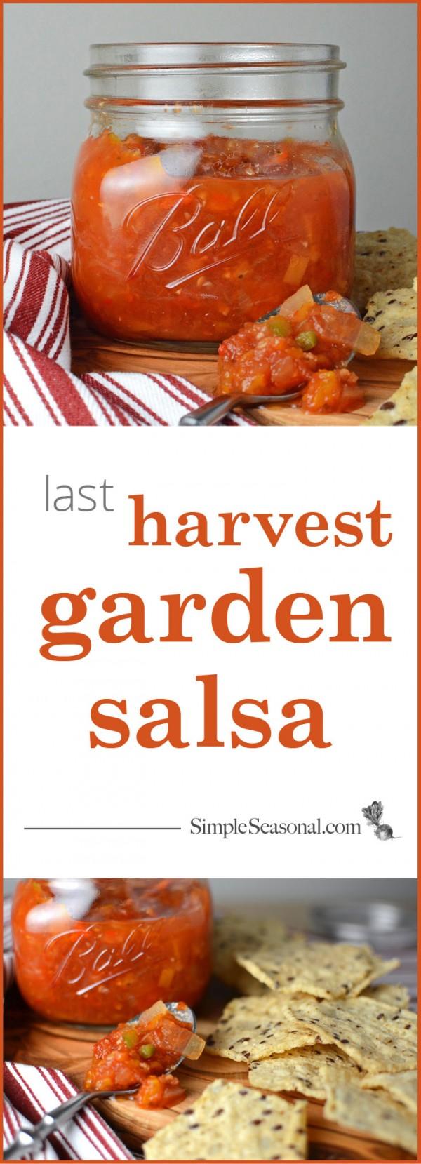 last harvest garden salsa