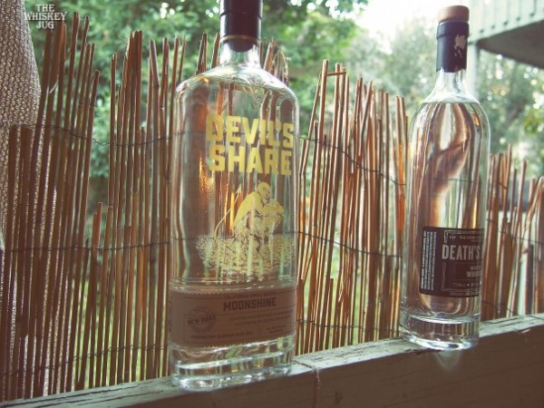 Devil's Share Moonshine is a decent white whiskey
