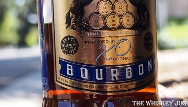 Belle Meade XO Cognac Finish Details (price, mash bill, cask type, ABV, etc.)