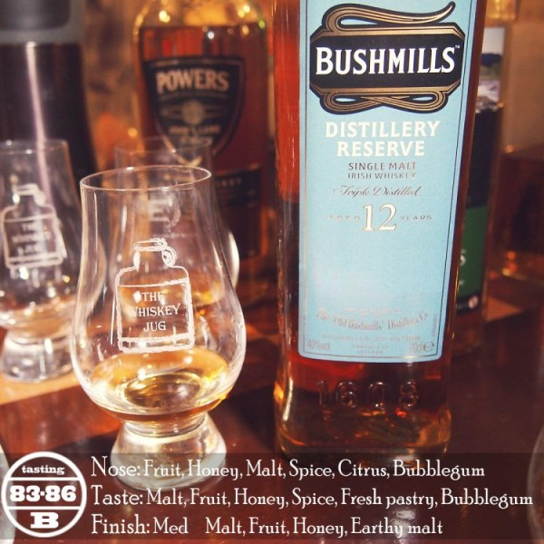 Bushmill's Distillery Reserve Review
