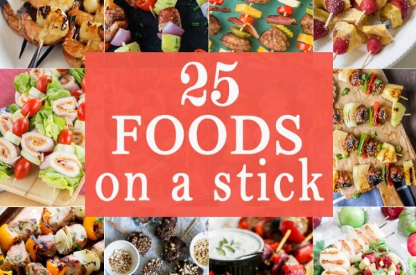25 Foods on a Stick