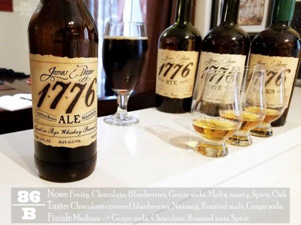 James E Pepper 1776 Ale Review
