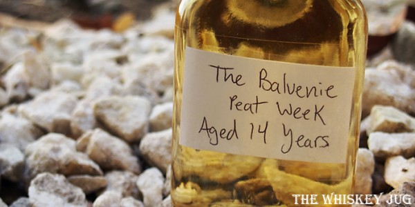Balvenie Peat Week Label