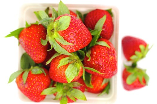 Strawberry Quinoa Salad Wrap with Maple Tahini Dressing | LocalSavour.com